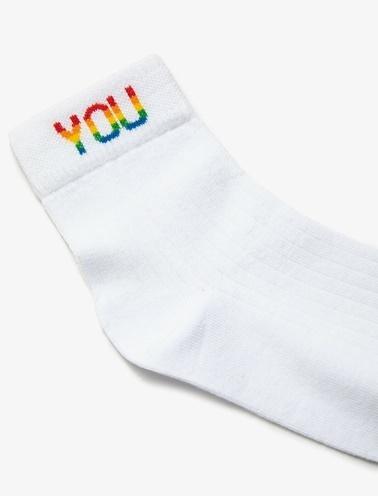 Koton Kadin Çorap Beyaz